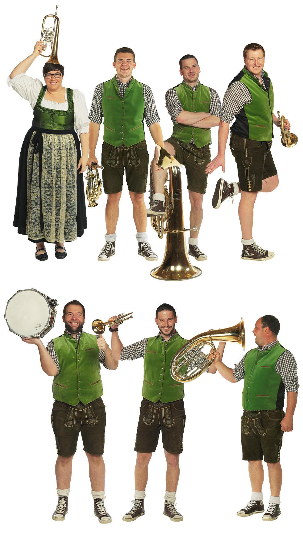 Gruppenbild Buch Brassmobil